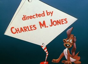 Screenshots from the 1954 Warner Bros. cartoon No Barking