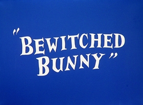 Screenshots from the 1954 Warner Brothers cartoon Bewitched Bunny