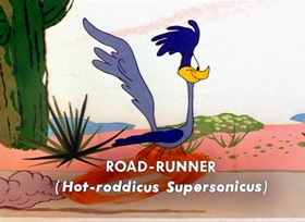 Screenshots from the 1954 Warner Brothers cartoon Stop, Look and Hasten