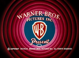 Screenshots from the 1954 Warner Brothers cartoon Gone Batty