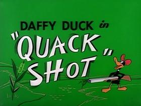 Screenshots from the 1954 Warner Bros. cartoon Quack Shot
