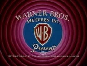 Screenshots from the 1955 Warner Brothers cartoon Beanstalk Bunny