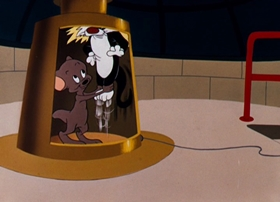 Screenshots from the 1955 Warner Brothers cartoon Lighthouse Mouse