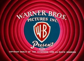 Screenshots from the 1955 Warner Brothers cartoon Ready, Set, Zoom!