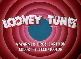 Screenshots from the 1955 Warner Brothers cartoon Lumber Jerks