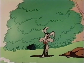 Screenshots from the 1955 Warner Brothers cartoon Double or Mutton