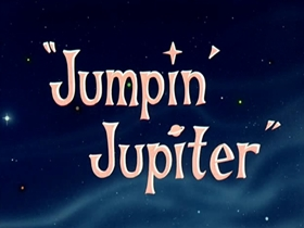Screenshots from the 1955 Warner Brothers cartoon Jumpin