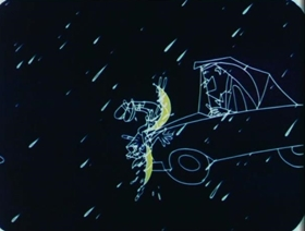 Screenshots from the 1956 Disney cartoon I