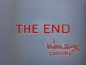 Screenshots from the 1956 Walter Lantz cartoon Chief Charlie Horse