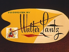 Screenshots from the 1956 Walter Lantz cartoon Arts and Flowers