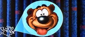 Screenshots from the 1956 Disney cartoon Hooked Bear
