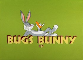 Screenshots from the 1956 Warner Brothers cartoon Bugs