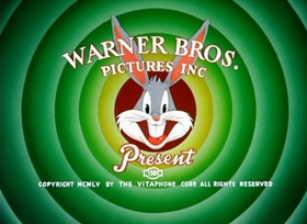 Screenshots from the 1956 Warner Brothers cartoon Broom-Stick Bunny