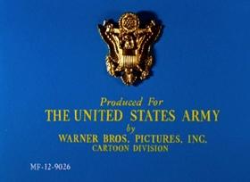 Screenshots from the 1956 Warner Brothers cartoon 90 Day Wondering