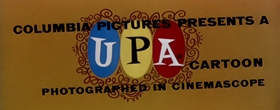 Screenshots from the 1956 UPA cartoon Calling Dr. Magoo