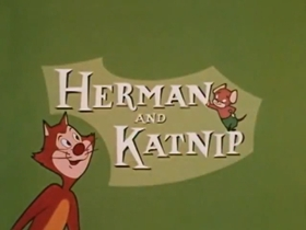 Screenshots from the 1957 Paramount / Famous Studios cartoon Cat in the Act