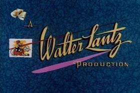 Screenshots from the 1957 Walter Lantz cartoon The Bongo Punch