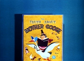 Screenshots from the 1957 Disney cartoon The Truth About Mother Goose