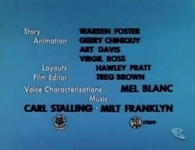 Screenshots from the 1957 Warner Brothers cartoon Piker