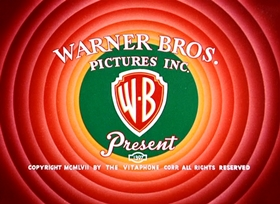 Screenshots from the 1957 Warner Brothers cartoon What