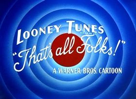 Screenshots from the 1957 Warner Brothers cartoon Show Biz Bugs