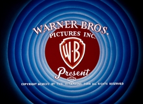 Screenshots from the 1957 Warner Brothers cartoon Mouse-Taken Identity