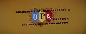 Screenshots from the 1957 UPA cartoon Matador Magoo