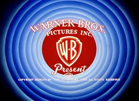 Screenshots from the 1958 Warner Brothers cartoon Weasel While You Work