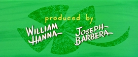 Screenshots from the 1958 MGM cartoon Droopy Leprechaun