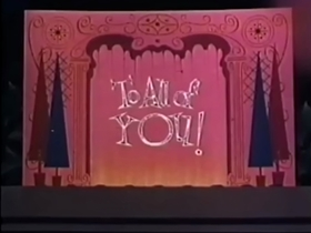 Screenshots from the 1958 Disney cartoon From All of Us to All of You