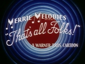 Screenshots from the 1958 Warner Brothers cartoon Don