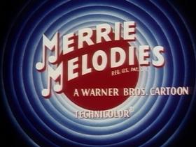 Screenshots from the 1958 Warner Brothers cartoon Don