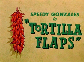 Screenshots from the 1958 Warner Brothers cartoon Tortilla Flaps