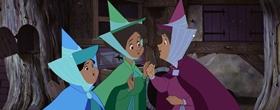Screenshots from the 1959 Disney cartoon Sleeping Beauty
