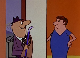 Screenshots from the 1959 Paramount / Famous Studios cartoon Out of This Whirl