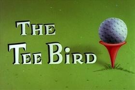 Screenshots from the 1959 Walter Lantz cartoon The Tee Bird