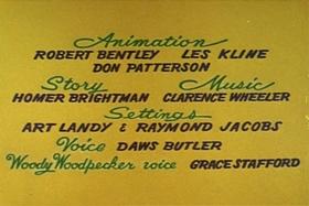 Screenshots from the 1959 Walter Lantz cartoon Romp in a Swamp