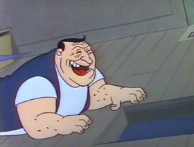 Screenshots from the 1959 Warner Brothers cartoon China Jones