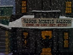 Screenshots from the 1959 Warner Brothers cartoon Bonanza Bunny