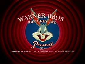 Screenshots from the 1959 Warner Brothers cartoon Bonanza Bunny