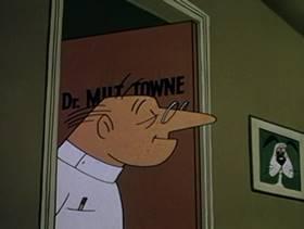 Screenshots from the 1959 Warner Brothers cartoon Tweet Dreams