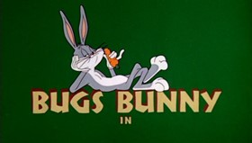 Screenshots from the 1959 Warner Brothers cartoon People are Bunny