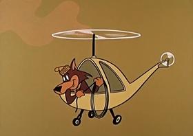 Screenshots from the 1959 Hanna-Barbera cartoon Little Bo Bopped