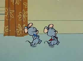 Screenshots from the 1959 Hanna-Barbera cartoon Jinks
