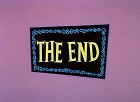 Screenshots from the 1959 Hanna-Barbera cartoon Dinky Jinks