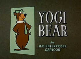Screenshots from the 1959 Hanna-Barbera cartoon Bear on a Picnic