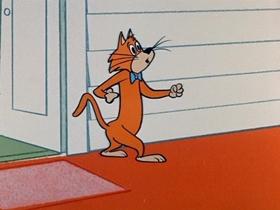 Screenshots from the 1959 Hanna-Barbera cartoon Hypnotize Surprise