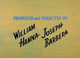 Screenshots from the 1959 Hanna-Barbera cartoon Bird House Blues