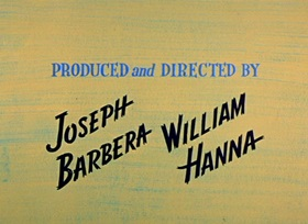 Screenshots from the 1959 Hanna-Barbera cartoon Postman Panic