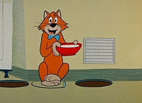 Screenshots from the 1959 Hanna-Barbera cartoon Nice Mice